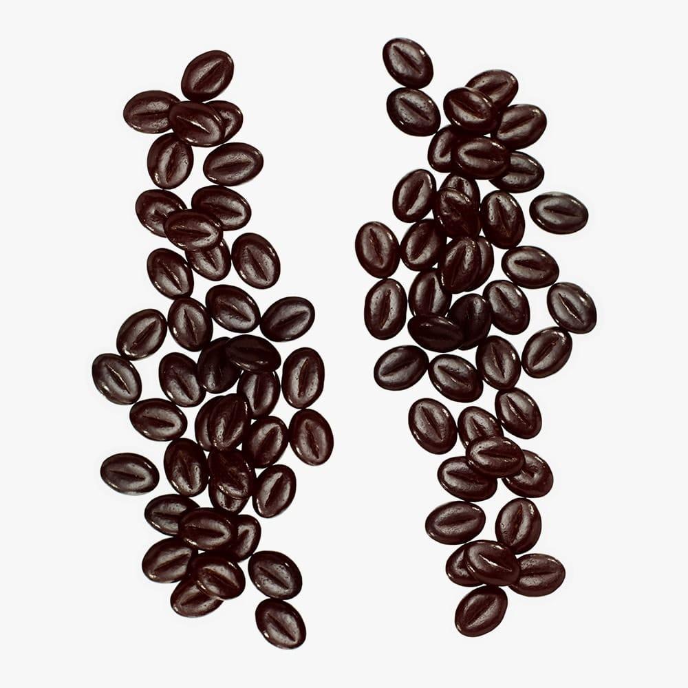 chocolade koffieboontjes