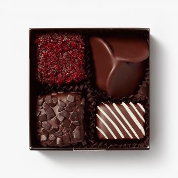 Ambachtelijk gemaakte bonbons van Puccini Bomboni
