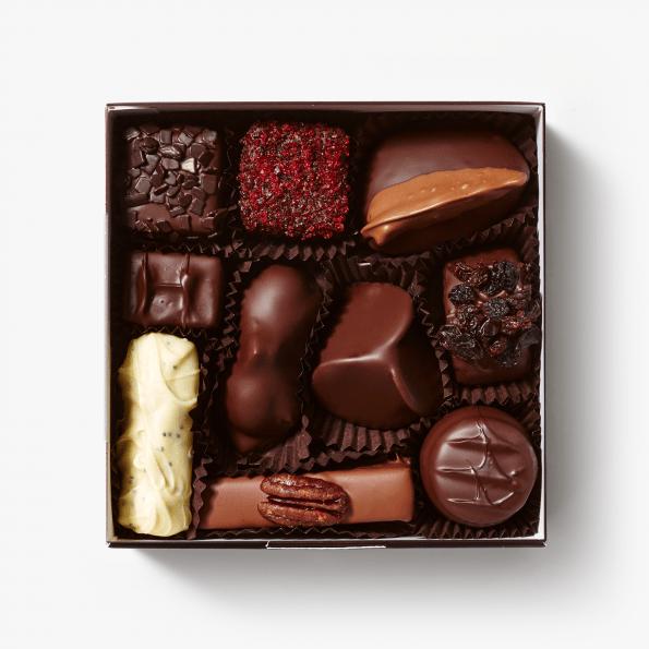 Ambachtelijk bonbons van Puccini Bomboni gemaakt met natuurlijke ingredienten