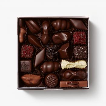 Ambachtelijk gemaakte bonbons van Puccini Bomboni met natuurlijke ingredienten