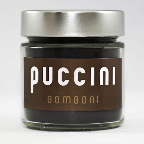 Black cocoa in design jar